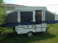 Trailer for rent,2005 palomino pony /pop up crank up