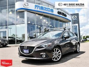 2015 Mazda Mazda3 GT|ONE OWNER|1.99% FINANCE AVAILABLE|NO ACCIDENTS