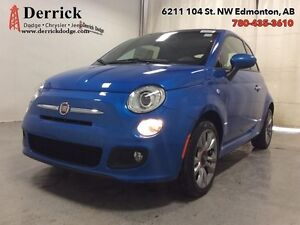 2016 Fiat 500 Used Sport Low Milge Ht Frnt Sts Blutooth $117 B/W