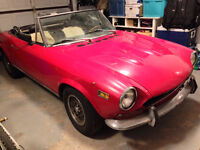 1972 Fiat Other 124 Spider Convertible