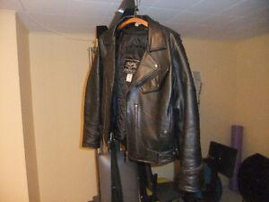 """Size 40, Genuine Leather """"Choko"""" Motorcycle Riding Jacket"""