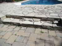 WANTED - An Experienced Mason (Flag Stone Deck, Pool Surround)