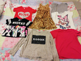 Girls 8~9 years clothes bundles