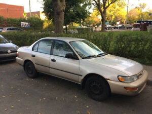 1997 Toyota Corolla $2600 of new parts put in the last 9 months!