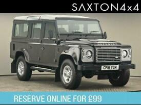 2016 Land Rover Defender 110 2.2 D XS (7 Seats) Station Wagon 5dr SUV Diesel Man