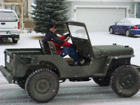 1951 Willy's Overland Jeep, excellent condition
