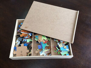 Thomas the Train wood puzzles - 2 sets (6 total puzzles)