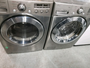 "LG 27"" STACKABLE WASHER AND DRYER"