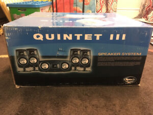 Klipsch Quintet III Surround Speaker System $120