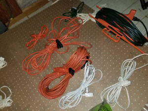 Large extension cords $10 each small $1