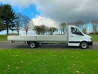 MERCEDES-BENZ SPRINTER 313Cdi (Euro5) 3.5t. 20ft (6m.) **EXTRA LONG ** Dropside