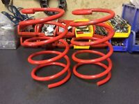 Bmw e46 front eibach lowering springs