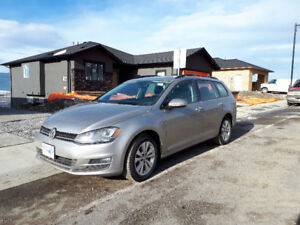2015 Volkswagen Golf Wagon 1,8L TSI Highline Model