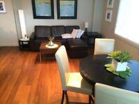 Dec rent Free, Modern furnished Mission condo, 1bdr + den
