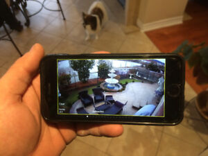 Home or Business Security Camera System Services Installation