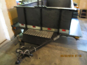 CUSTOM BUILT UTILITY TRAILER 5 X 10