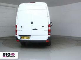 2015 MERCEDES SPRINTER 313 CDI MWBHIGH ROOF FRIDGE VAN INSULATED/REFRIGERATED DI