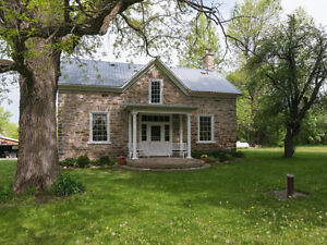 Stone house for sale near Perth, Ontario