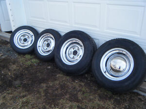 1934 ford hot rod flathead chrome rims and tires new rat rod