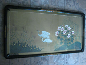 Chinese Large Traditional Painting - Great frame