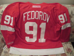1990's Detroit Red Wings Sergei Fedorove jersey