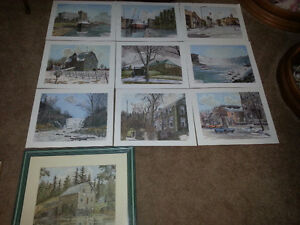 Full Colour Reproductions of Niagara Scenery by The Standard
