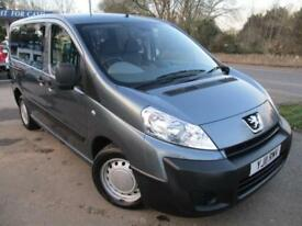 2011 PEUGEOT EXPERT HDI TEPEE COMFORT WHEELCHAIR ACCESS VEHICLE ALWAYS A GOOD SE