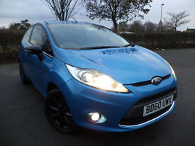 Ford Fiesta 1.25 ( 82ps ) 2010.5MY Zetec Air Con, 1 Former Keeper, Economical