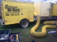 Great Duct Cleaning unit and operator