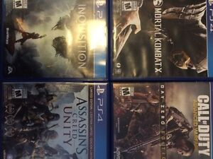 PS4 game in case