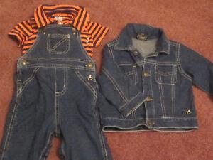vêtements pour garçon de 0 a 18 mois