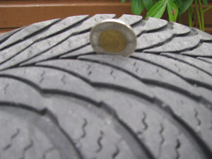 4 - Good Year Eagle Ultra 205 60 R 15 M & S Snow Tires For Sale Kawartha Lakes Peterborough Area image 5