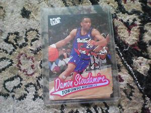 Raptors Damon stoudamire card 96_97 fleer ultra