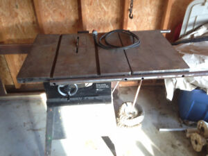 "10"" Rockwell Table Saw 34050 - 1.5HP, cast iron table"