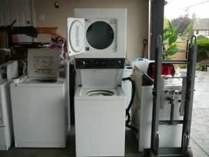 Apartment Size 1 Piece Stackable Washer & Dryer - Just Like New