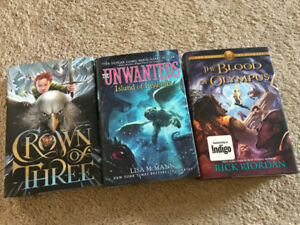 The Blood of Olympus; Crown of Three; The Unwanteds
