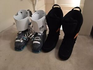 26.5 technical ski boots.