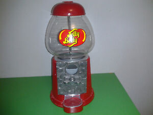 Jelly Belly Gum Ball Candy Machine Metal Glass Vintage