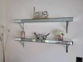 Mirror shelving