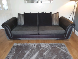 4 seater sofa and cuddler with built-in speakers and Bluetooth
