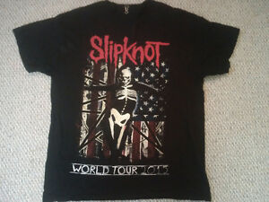 Slipknot 2015 Tour Men's Black T-Shirt