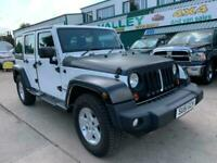 2013 63 Jeep Wrangler Sahara 2.8CRD Auto (197bhp) 4X4 Only 35k mls 2 Owners!!