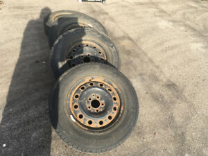 Tires and rims 225/70R16
