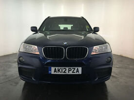2012 BMW X3 XDRIVE20D M SPORT AUTO DIESEL ESTATE 1 OWNER SERVICE HISTORY FINANCE