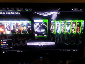 XBOX 360 with about 1000 + GAMES