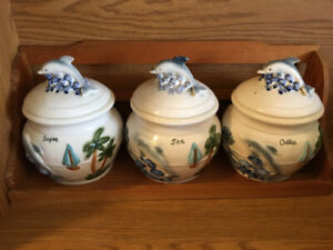 Dolphin Canister Set