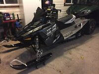 2015 POLARIS assault 800  snow check