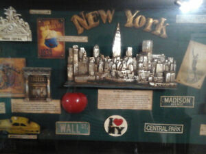 New York City shadow box