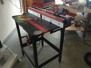 Router Table with accessories  Marson