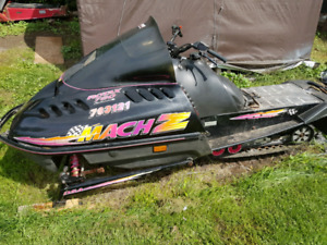 1995 skidoo mach z  part out